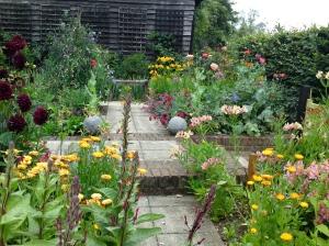 Kitchen Garden, July